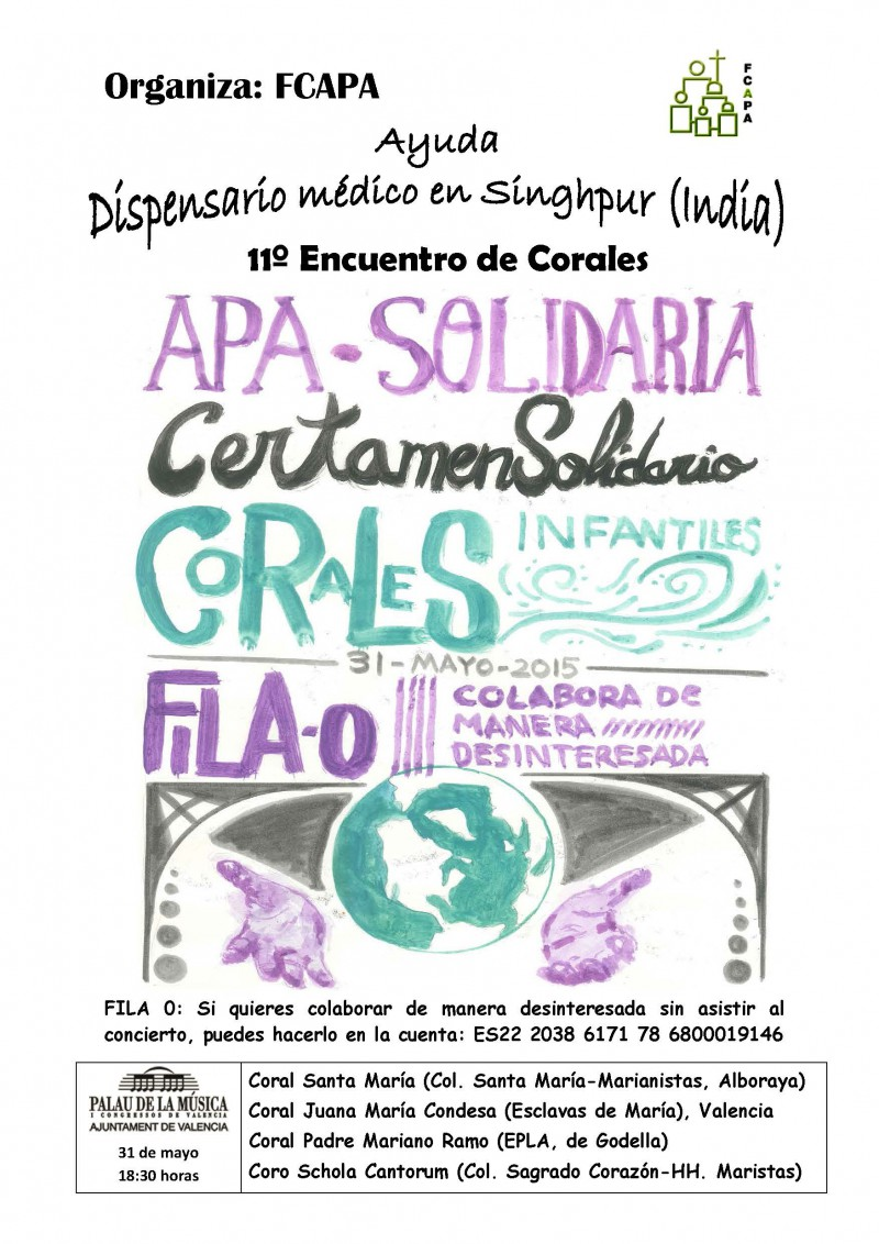 Cartel APASOLIDARIA