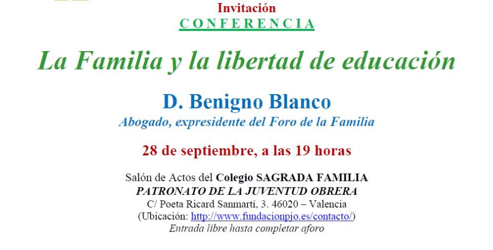 Conferencia La Familia y la libertad de educación