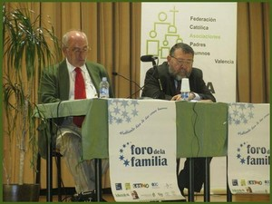 Benigno Blanco (Presidente FEF) y Vicente Morro
